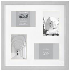 MDF fotorámik na viac fotiek 4F BLOCK FRAME šedý