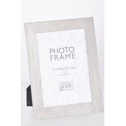 Strieborný kovový fotorámik 13x18 Ophelia