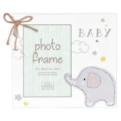 Detský fotorámik 10x15cm Glitter Elephant