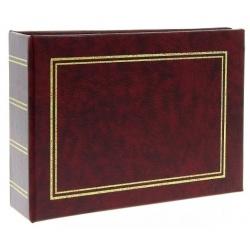 Jednofarebný fotoalbum 10x15/100 foto hnedý