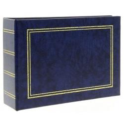 Jednofarebný fotoalbum 10x15/100 foto modrý