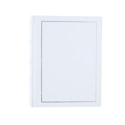 Jednofarebný fotoalbum 10x15/200 TRADITION biely