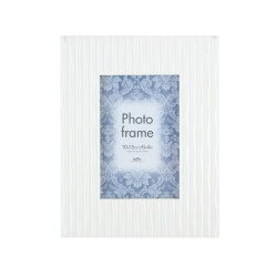 Fotorámeček CASA Wave bílá 10x15
