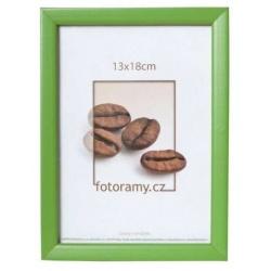 Dřevěný fotorámeček DR0C2 20x30 zelený