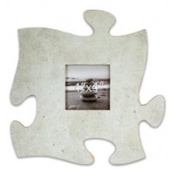 Fotorámik 10x10 Puzzle šedý