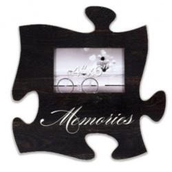Fotorámik 15x10 Puzzle čierny