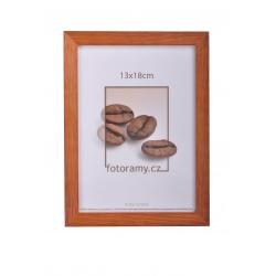 Dřevěný fotorámeček DR004 20x30 walnut