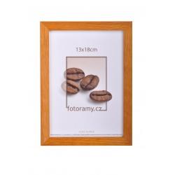 Dřevěný fotorámeček DR004 21x29,7 A4 teak
