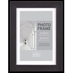 MDF fotorámik 15x20cm BLOCK FRAME čierny