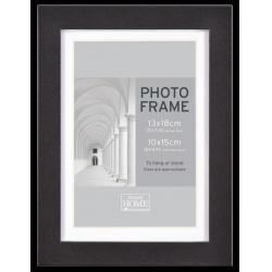MDF fotorámik 24x30cm BLOCK FRAME čierny