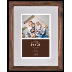 Luxusný drevený fotorámik Floating Frame 10x15 Hazel Brown
