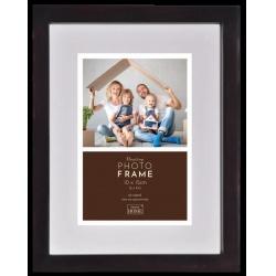 Luxusný drevený fotorámik Floating Frame 10x15 Dark Brown