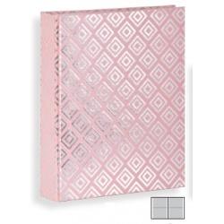 Detský fotoalbum 10x15/160 DIAMOND Blush ružový