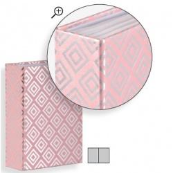 Detský fotoalbum 10x15/80 DIAMOND Blush ružový