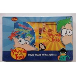 Set album 10x15/72 + rámik 10x15 Disney Phineas and Ferb