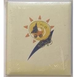 Detský klasický fotoalbum 29x32 cm 50 strán modrý