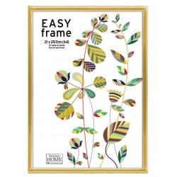 Zlatý plastový fotorámik 21x29,7cm A4 EASY Frame