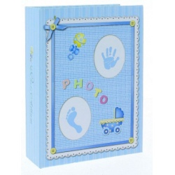 Detský fotoalbum 10x15/100 BABY-3 modrý