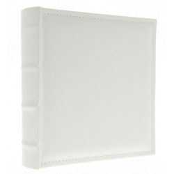 Kožený fotoalbum 10x15/300 s popisom WHITE