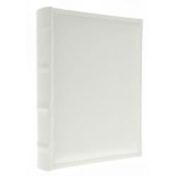 Samolepiaci kožený fotoalbum 24x29/40s. WHITE
