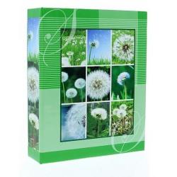 Neutrálny fotoalbum 10x15/304 BLOOM zelený