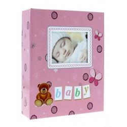 Detský fotoalbum 10x15/304 foto LOCOTIME ružový