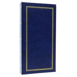 Jednofarebný fotoalbum 10x15/200 foto modrý