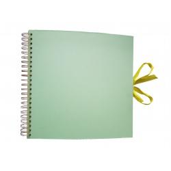 Špirálový fotoalbum SPRING TIME svetlo zelený