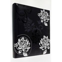 Zastrkávací fotoalbum 10x15/600 Black and White černé