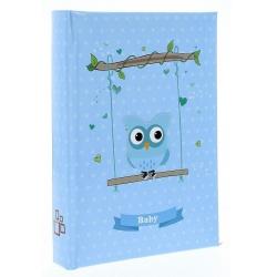 Dětské fotoalbum 10x15/50 BIRD modré