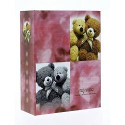 Dětské fotoalbum 10x15/100 SWEETBEAR růžové