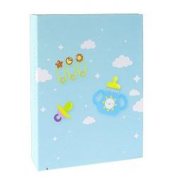 Dětské fotoalbum 10x15/100 CUTE BABY modré vše