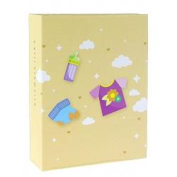 Dětské fotoalbum 10x15/100 CUTE BABY žluté