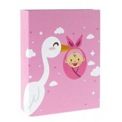 Dětské fotoalbum 10x15/100 CUTE BABY růžové