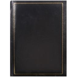Jednofarebný fotoalbum 10x15 / 200 TRADITION čierny