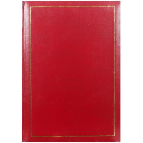 Jednofarebný fotoalbum10x15/200 TRADITION červený