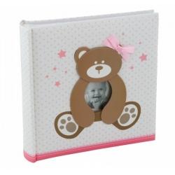 Detský fotoalbum 10x15/200 foto SWEETY ružový