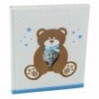 Detský samolepiaci fotoalbum 24x29/40s SWEETY modrý