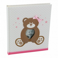Detský samolepiaci fotoalbum 24x29/40s SWEETY ružový