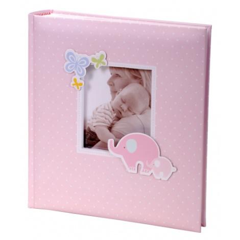 Detský fotoalbum 10x15/200 foto HONEY ružový