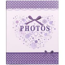 Detský fotoalbum na rožky 22x27/60s SMART fialový