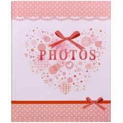 Detský fotoalbum na rožky 22x27/60s SMART ružový