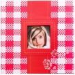 Fotoalbum na rožky 30x30/100 strán FRESH COLOUR červený