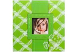 Fotoalbum na rožky 30x30/100 strán FRESH COLOUR zelený