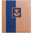 Fotoalbum na rožky NATURAL LINE 30x33/80s. modrý