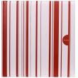 Fotoalbum na rožky COLOR STRIPES 30x30/100s. červený