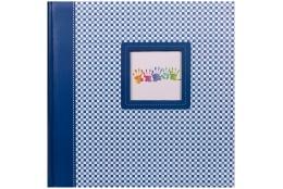Fotoalbum na rožky 30x30/100 strán ELEMENTS modrý