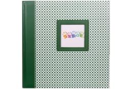 Fotoalbum na rožky 30x30/100 strán ELEMENTS zelený