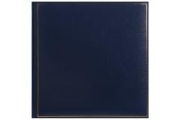 Klasický fotoalbum na rožky 35x35cm/100s. TRADITION modrý