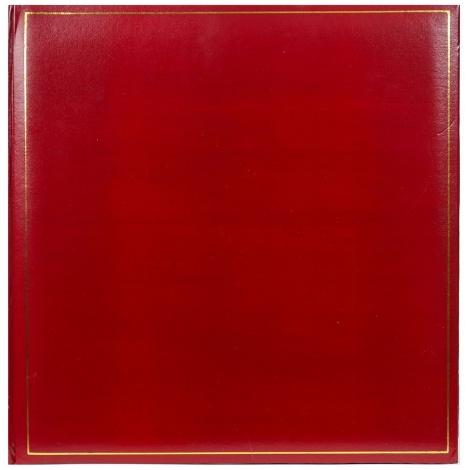 Klasický fotoalbum na rožky 35x35cm/100s. TRADITION vínový